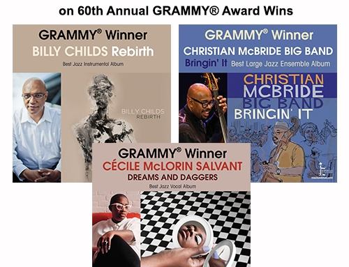 Mack Avenue Records 60th Annual GRAMMY® Award Wins