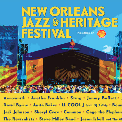 New Orleans Jazz & Heritage Festival