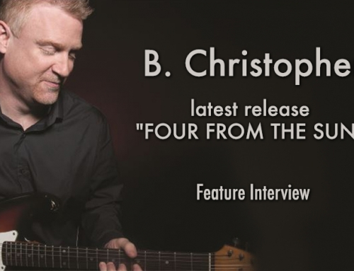 B. CHRISTOPHER – Feature Interview