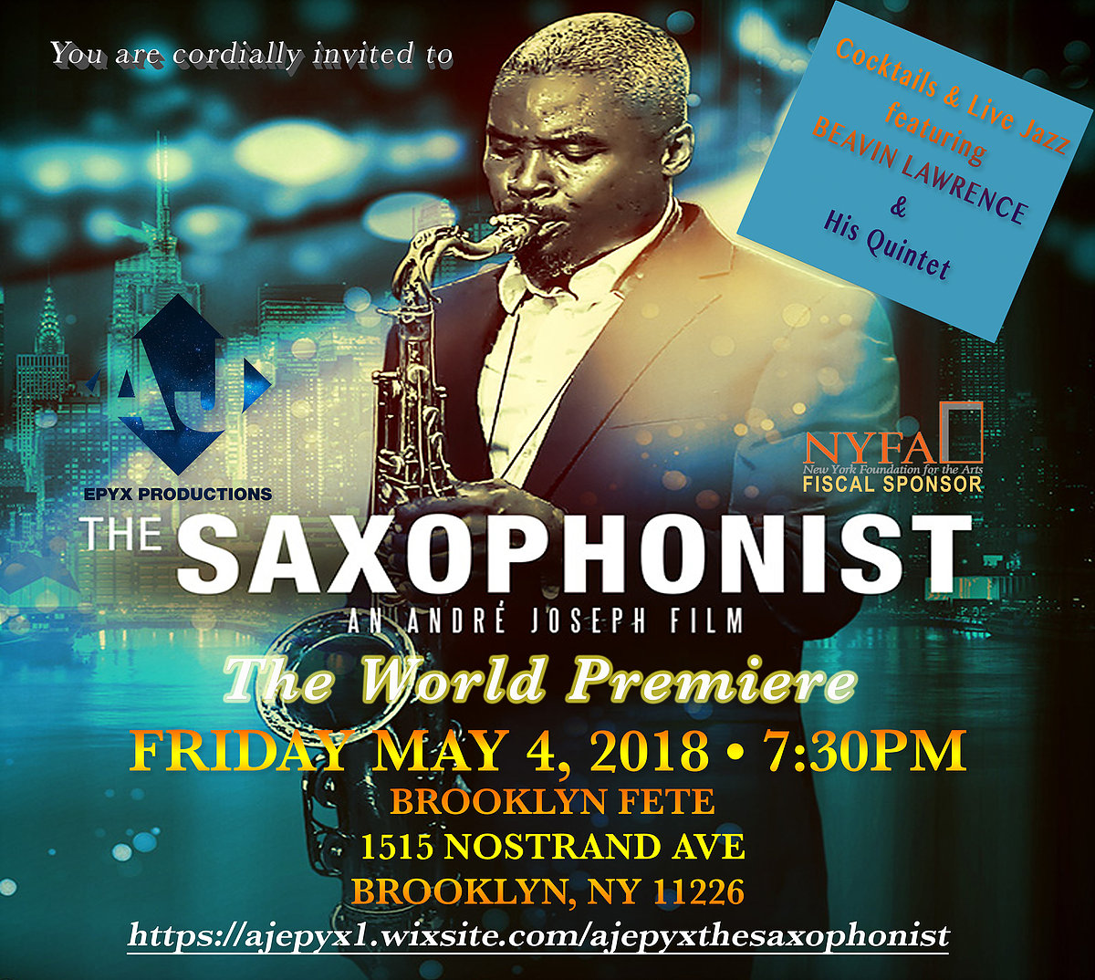 The Saxophonist - Premiere