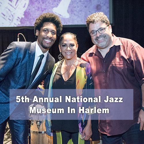 5th Annual National Jazz Museum In Harlem - Jon Batiste, Sheila E., Arturo O'Farrill