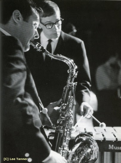 Stan Getz and Gary Burton performing