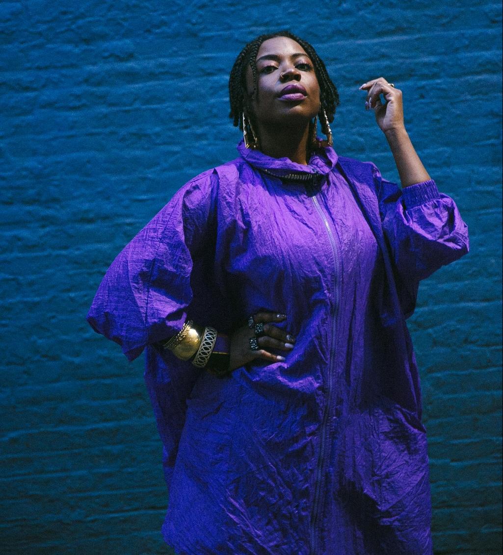 Jazz artist Melani Charles.